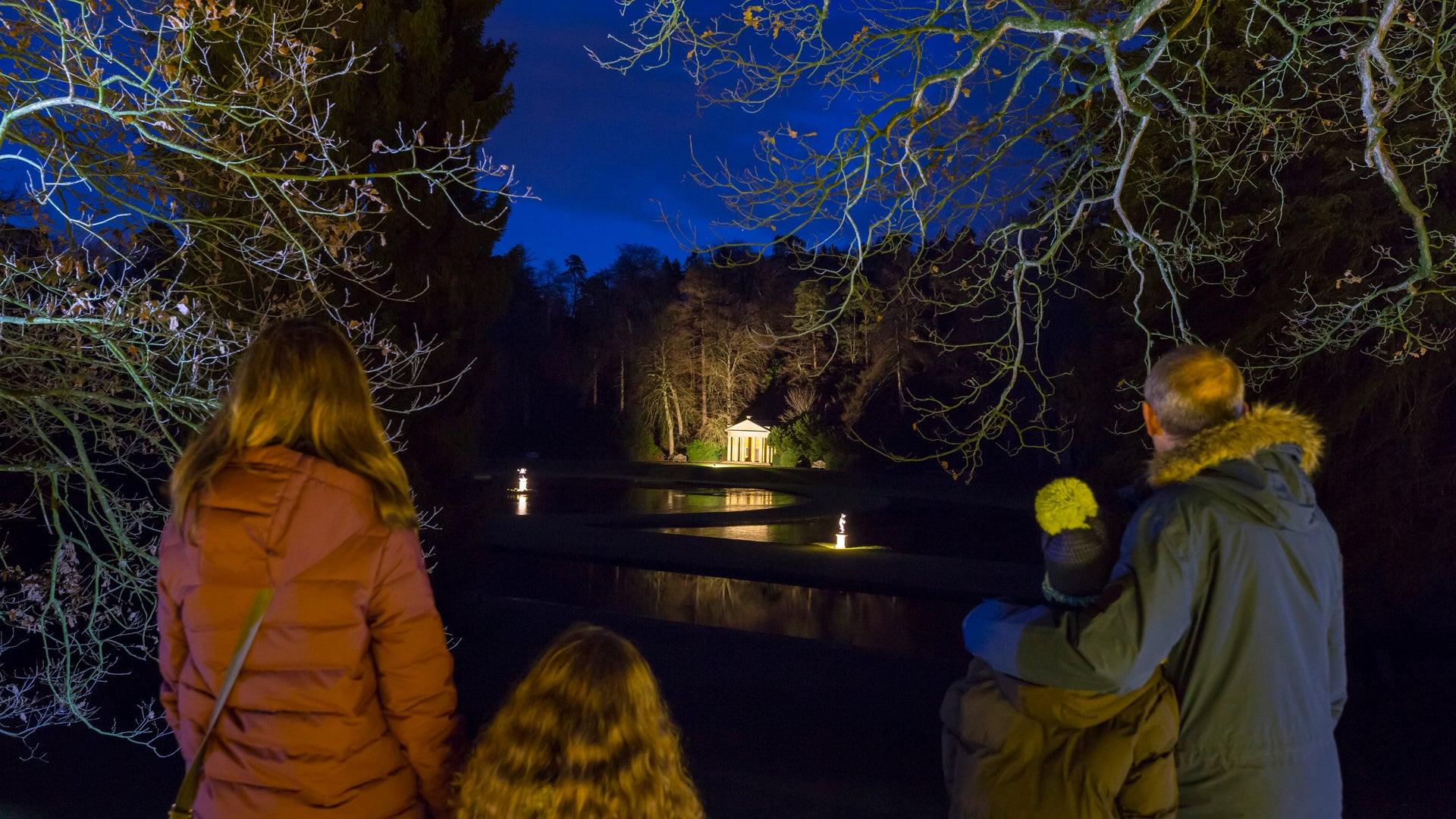Fountains Abbey - Autumn, Winter & Christmas