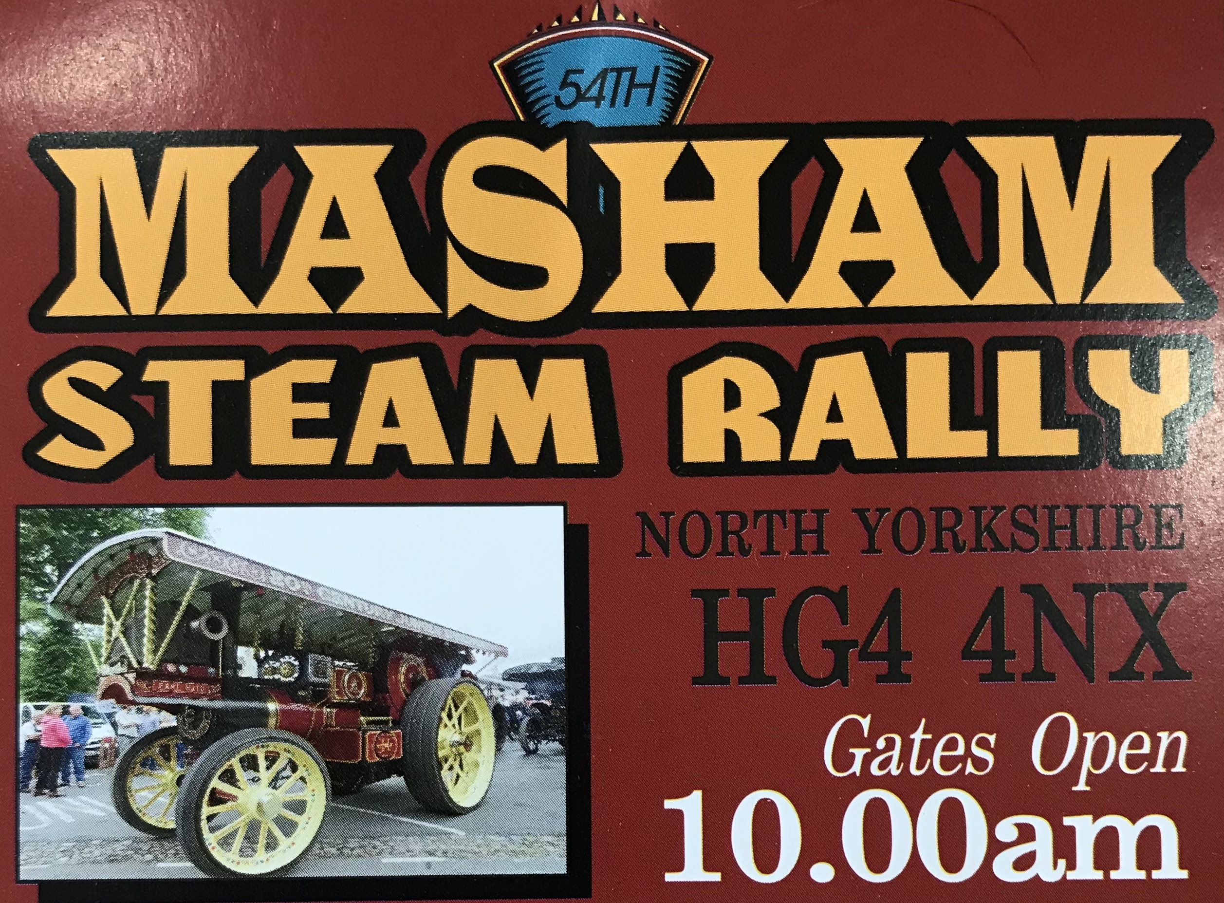 Masham Steam Rally - 20th & 21st July
