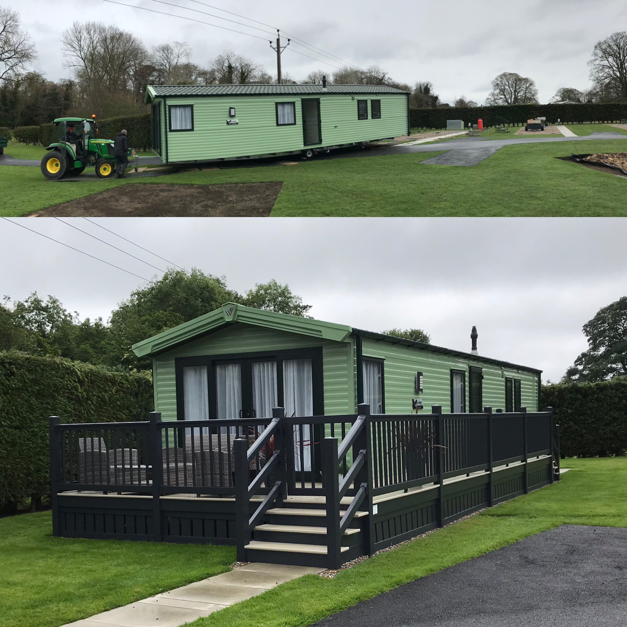 2nd April - Phase 2 is Live & Holiday Home Now Ready to Go!!