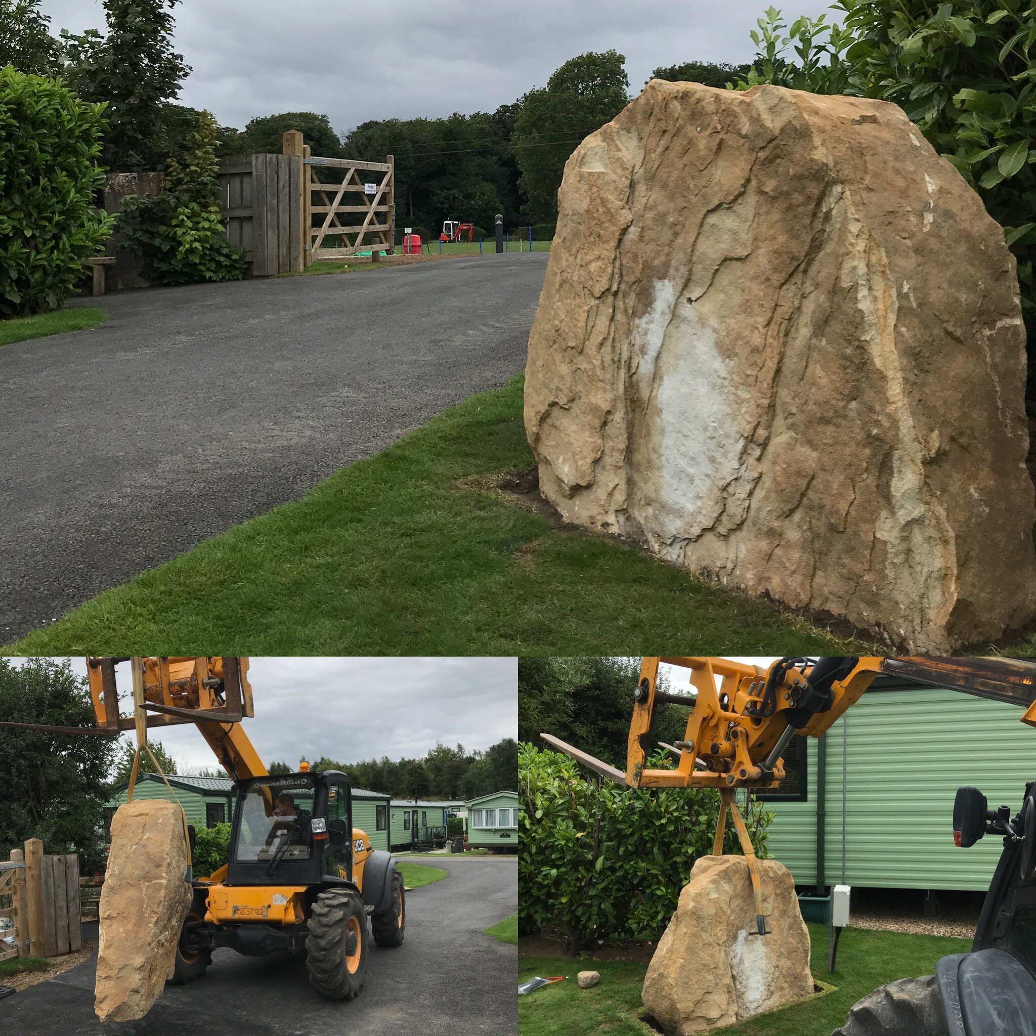 17th August - Park Field Entrance Stone