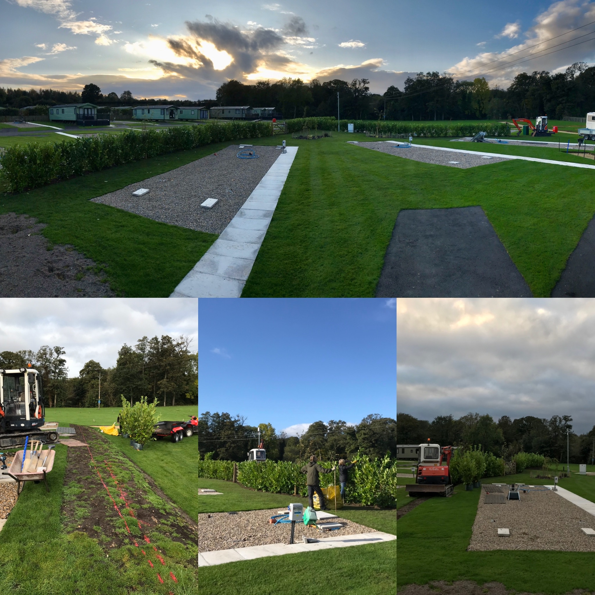 October 15th - The Grand Hedge Planting Scheme!