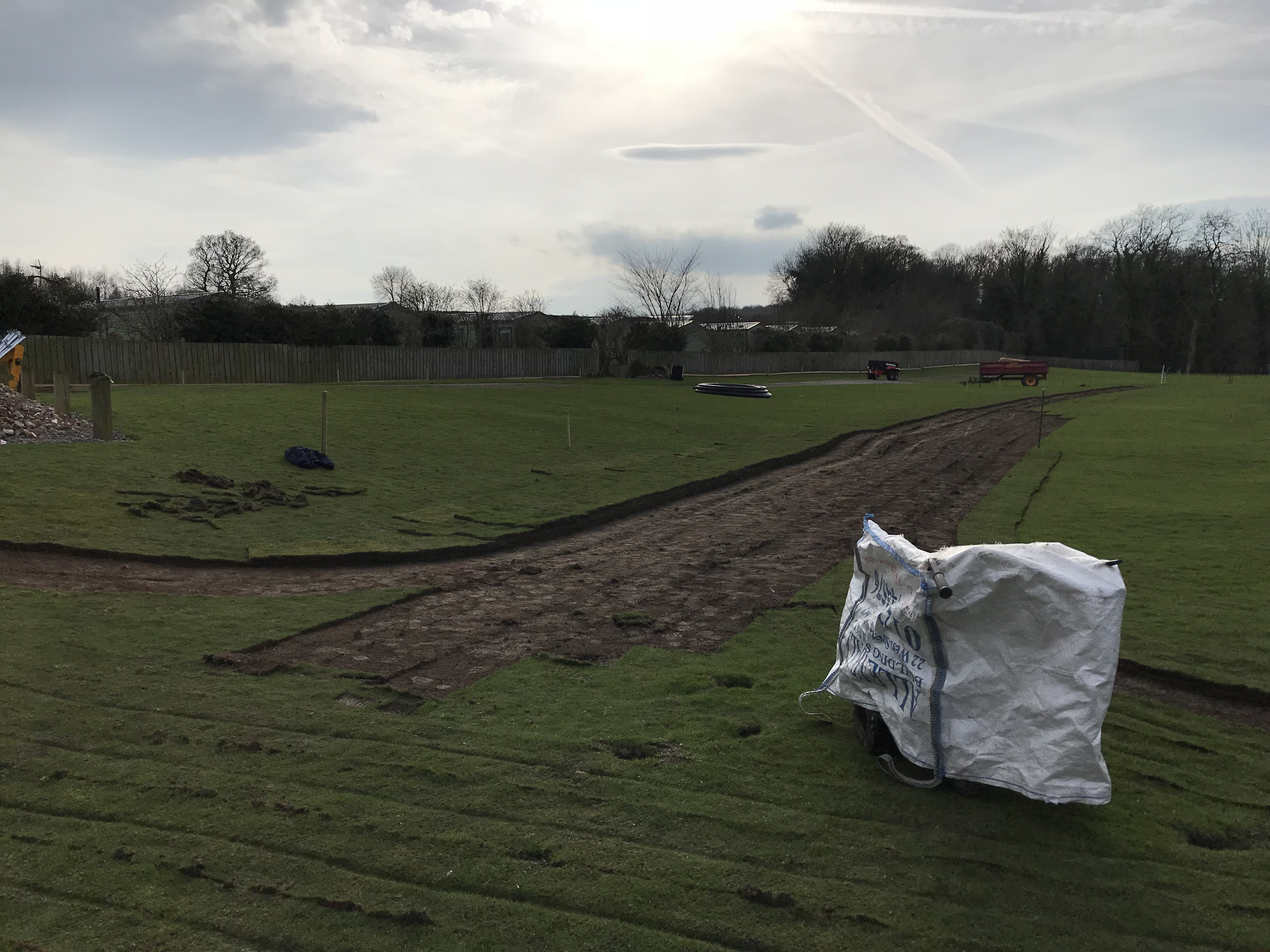 6th April – More Turf Cutting!