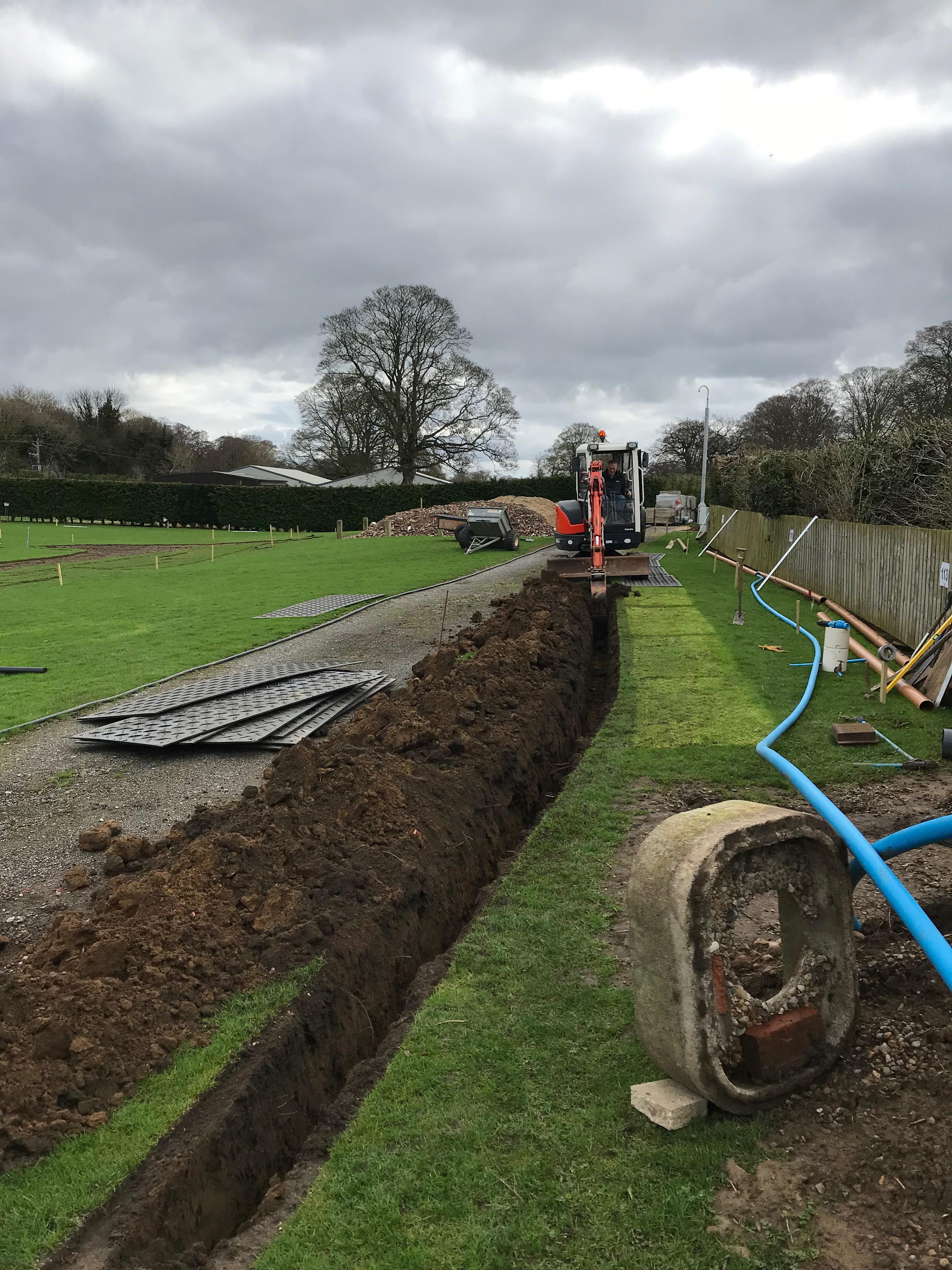 16th April – Let the digging Begin