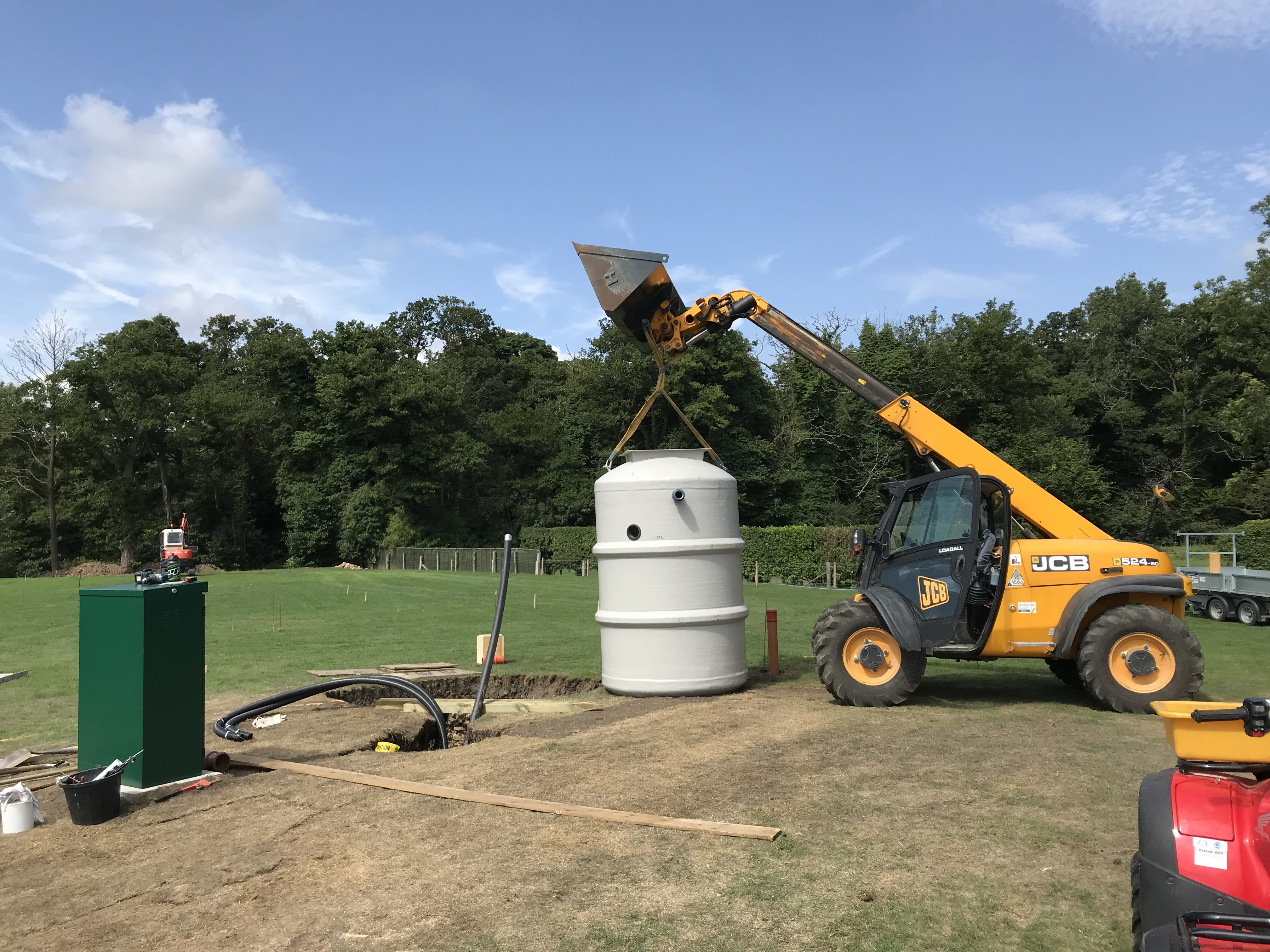7th August - Waste Tank Ready to Install!