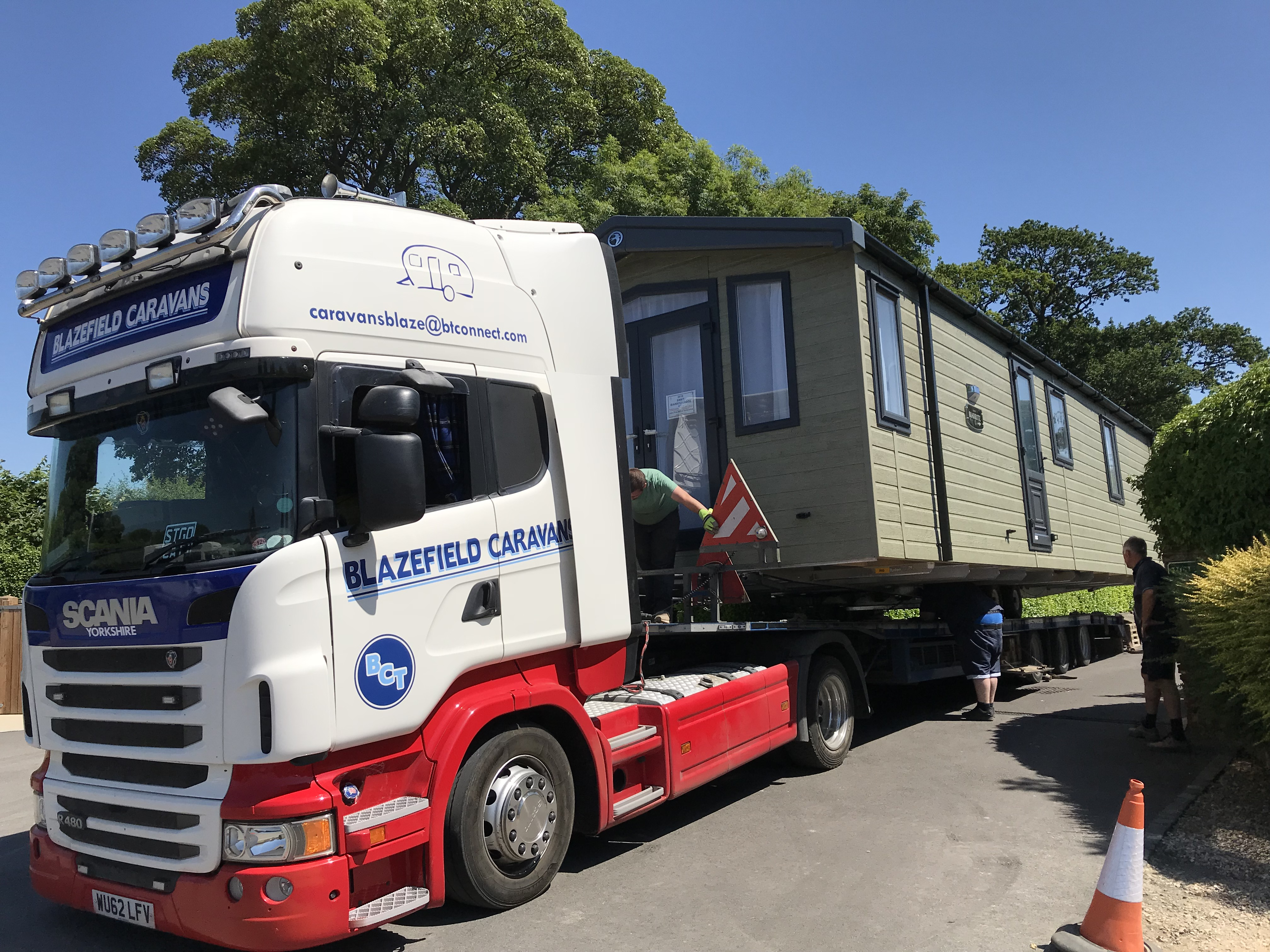 1st July – Another new arrival...this time a Holiday Home!