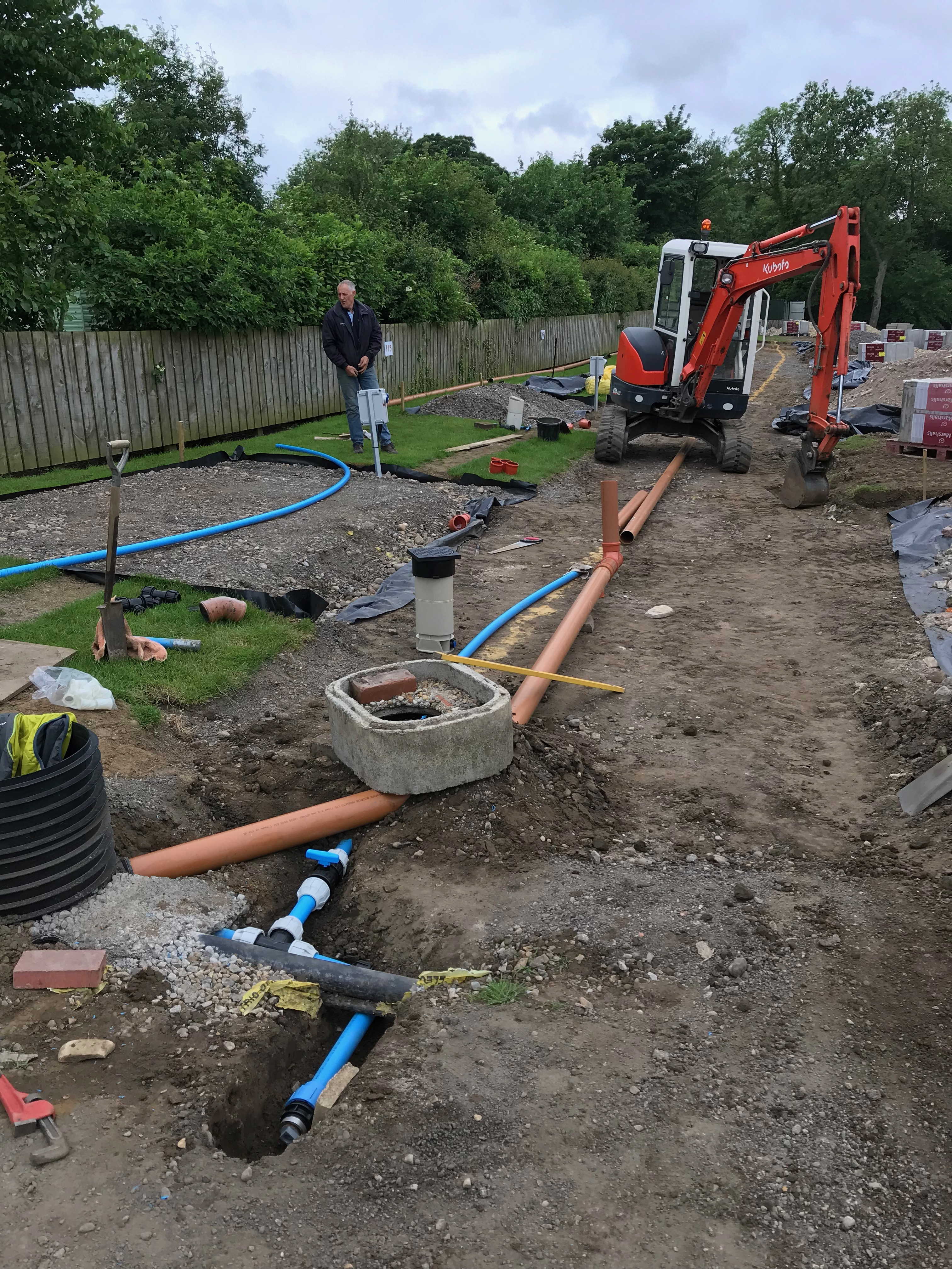 6th June – We Now Have Drains & Water